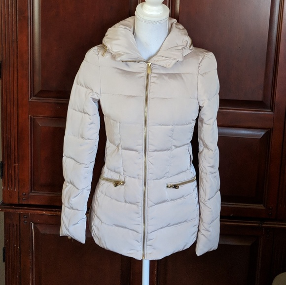 24ffe598f Zara Woman down puffer jacket size XS